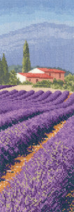Lavender Fields Cross Stitch Kit by Heritage Crafts