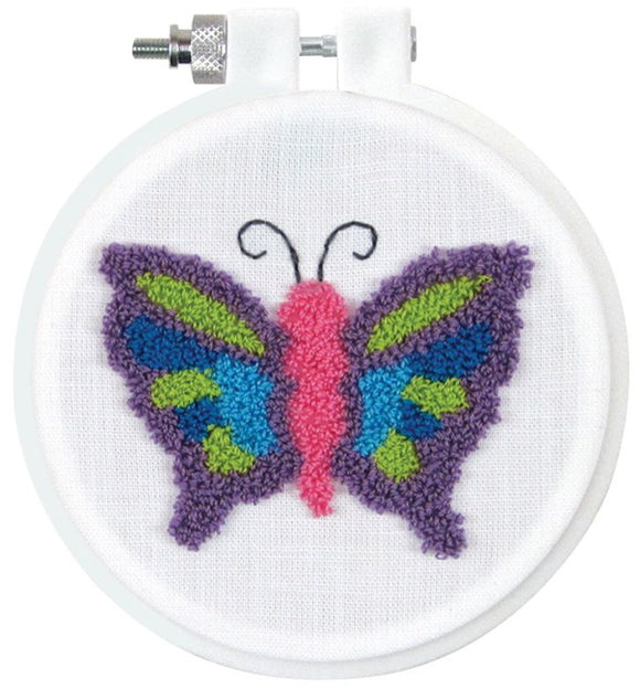 Butterfly Punch Needle Kit by Design Works