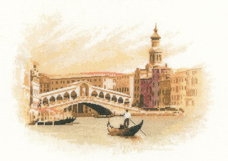 Rialto Cross Stitch Kit by Heritage Crafts