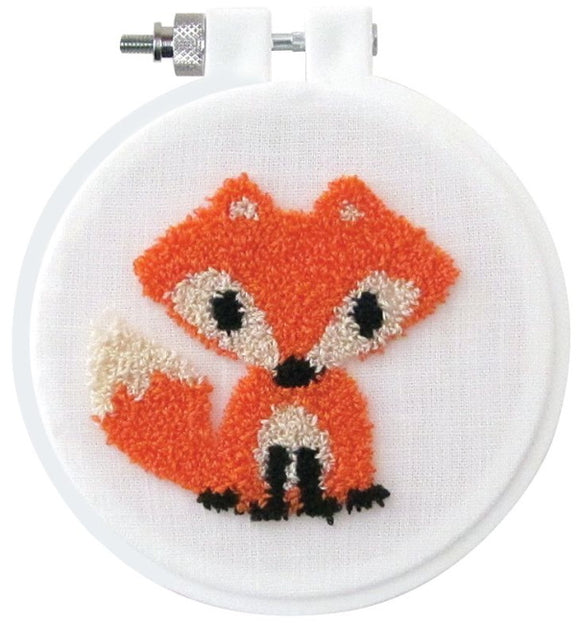 Fox Punch Needle Kit by Design Works