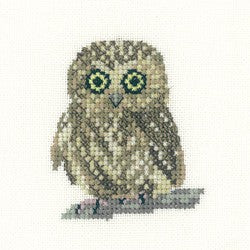 Owl Cross Stitch Kit by Heritage Crafts