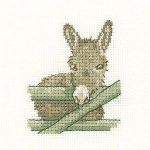 Donkey Cross Stitch Kit by Heritage Crafts