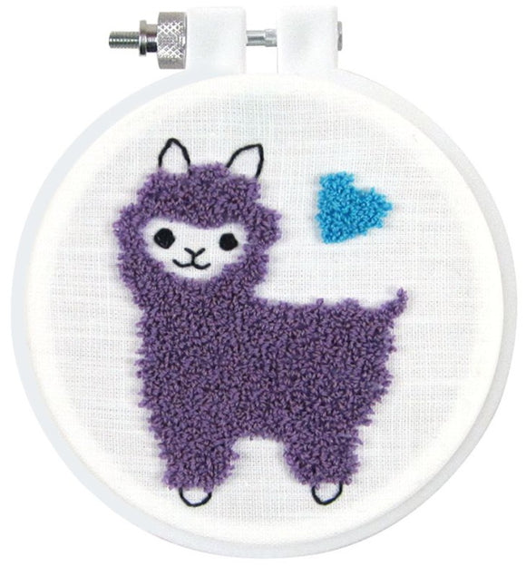 Llama Punch Needle Kit by Design Works