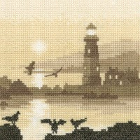 Guiding Light Cross Stitch Kit by Heritage Crafts