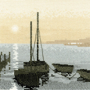Safe Harbour Cross Stitch Kit by Heritage Crafts