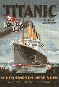 Titanic Cross Stitch Kit by Heritage Crafts