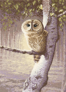 Night Watchman Cross Stitch Kit by Heritage Crafts