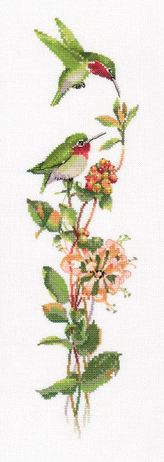 Toccata in Green Cross Stitch Kit by Heritage Crafts