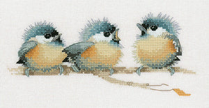 Sitting Pretty Cross Stitch Kit by Heritage Crafts