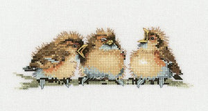 Threes a Crowd Cross Stitch Kit by Heritage Crafts