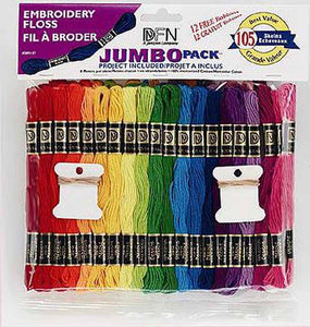 Jumbo Stranded Cotton Pack by Janlynn