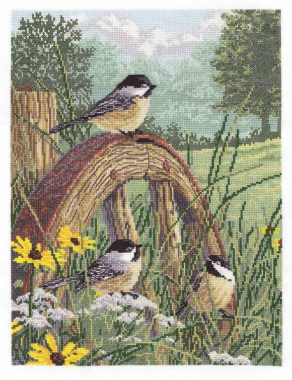 Meadows Edge Cross Stitch Kit by Janlynn
