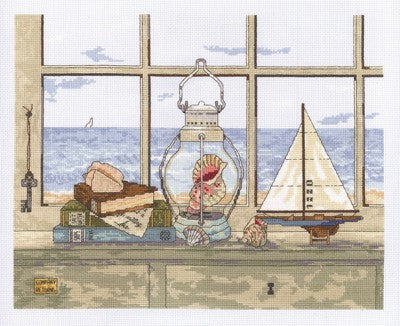 Sea Breeze Vista Cross Stitch Kit by Janlynn