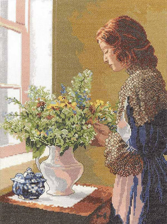 Grace Cross Stitch Kit by Janlynn