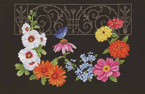 Hidden Garden Cross Stitch Kit by Janlynn
