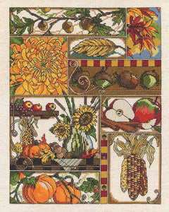 Autumn Montage Cross Stitch Kit by Janlynn