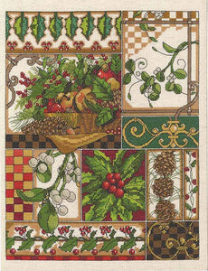 Winter Montage Cross Stitch Kit by Janlynn