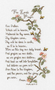 The Lords Prayer Cross Stitch Kit by Janlynn