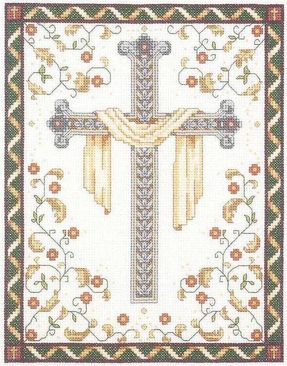 His Cross Cross Stitch Kit by Janlynn