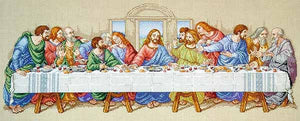 The Last Supper Cross Stitch Kit by Janlynn