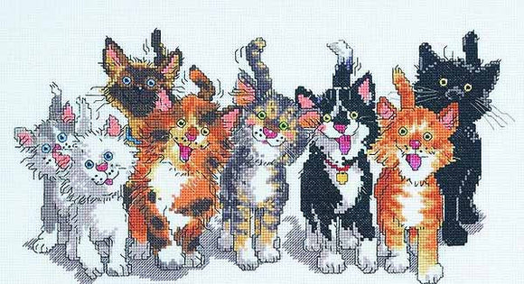 Tails of Duckport Cross Stitch Kit by Janlynn