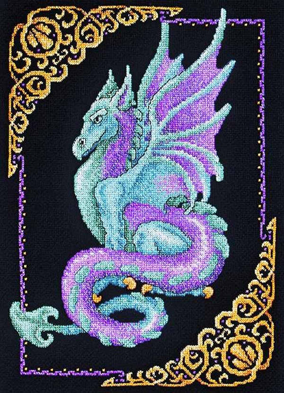Mythical Dragon Cross Stitch Kit by Janlynn