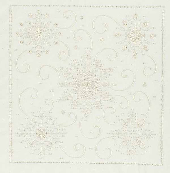 Snowflake Pillow Candlewicking Kit by Janlynn