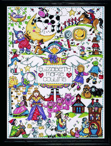 Nursery Rhymes Cross Stitch Kit by Design Works