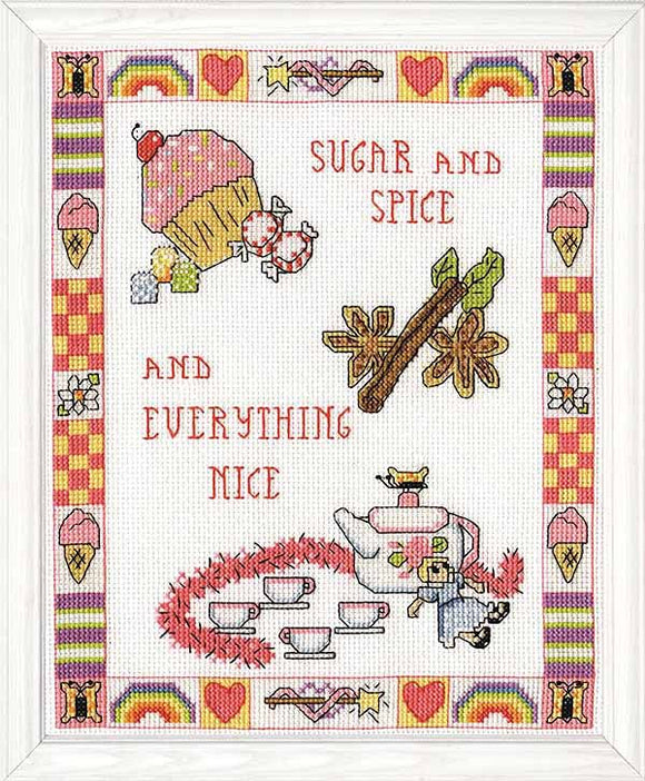 Sugar and Spice Cross Stitch Kit by Design Works