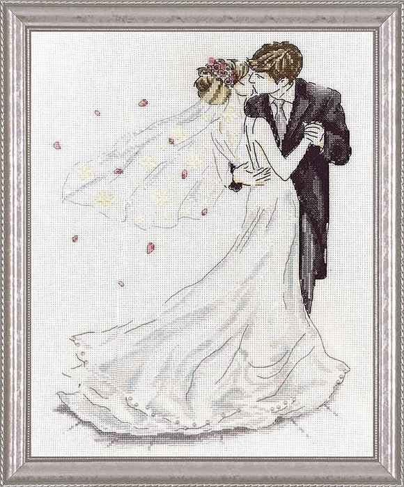 Wedding Dance Cross Stitch Kit by Design Works