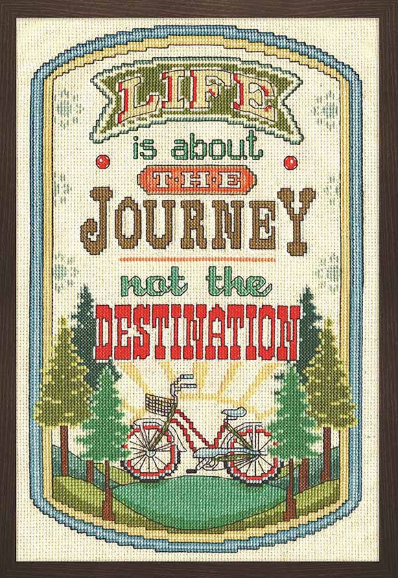The Journey Cross Stitch Kit by Design Works