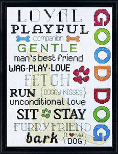 Good Boy Cross Stitch Kit by Design Works