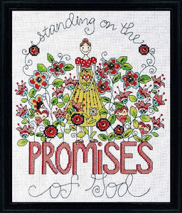 Promises Cross Stitch Kit by Design Works