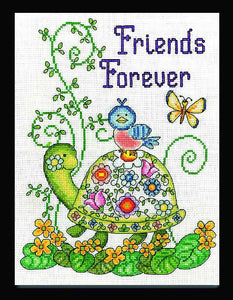 Friends Forever Cross Stitch Kit by Design Works