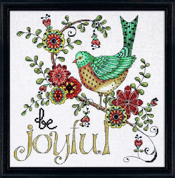 Be Joyful Cross Stitch Kit by Design Works