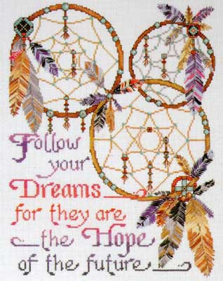 Dream Catchers Cross Stitch Kit by Design Works