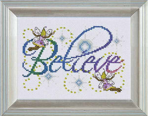 Believe Cross Stitch Kit by Design Works