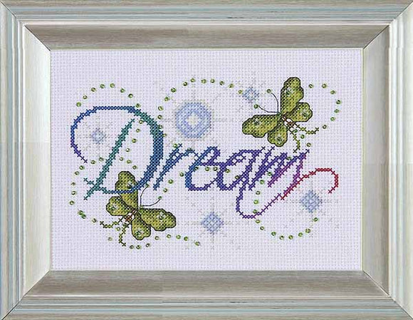 Dream Cross Stitch Kit by Design Works