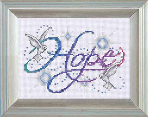 Hope Cross Stitch Kit by Design Works