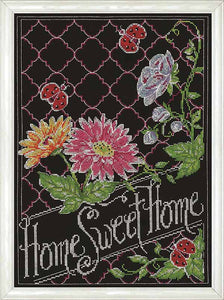 Home Sweet Home Chalkboard Cross Stitch Kit by Design Works