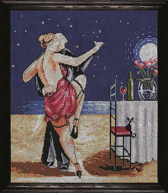 Night Time Tango Cross Stitch Kit by Design Works