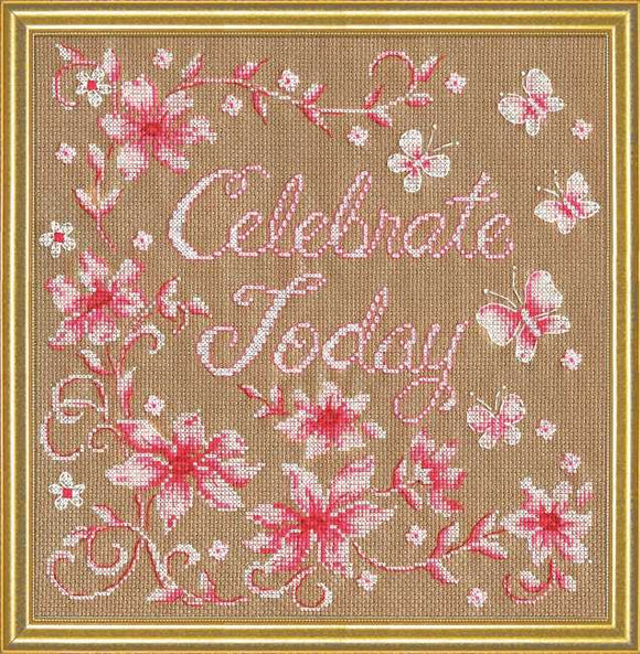 Celebrate Cross Stitch Kit by Design Works