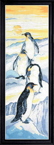 Penguins Cross Stitch Kit by Design Works