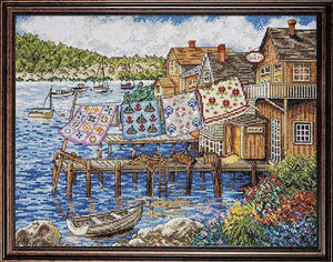 Dockside Quilts Cross Stitch Kit by Design Works