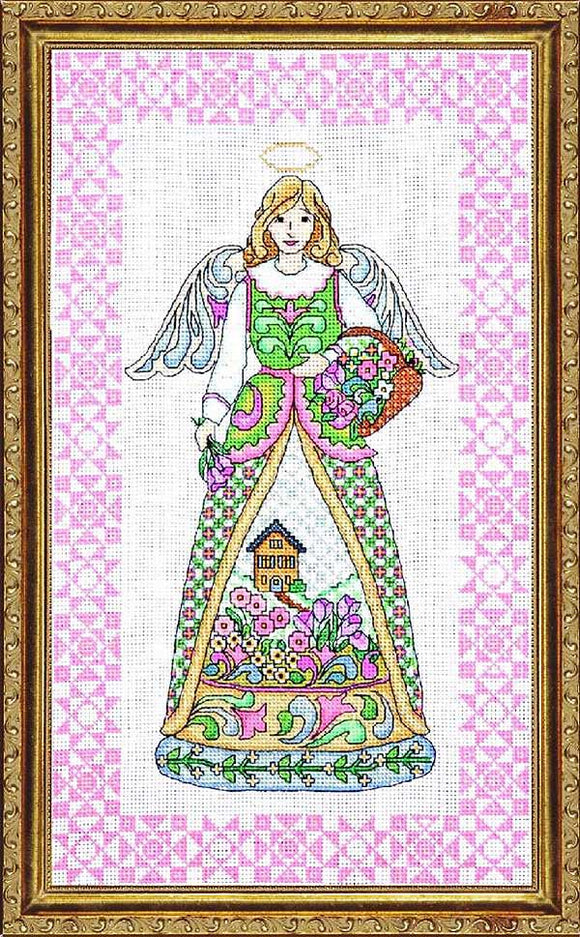 Spring Angel Cross Stitch Kit by Design Works