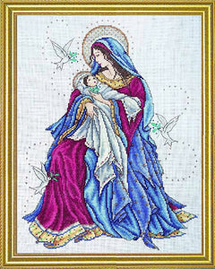 Madonna and Child Cross Stitch Kit by Design Works