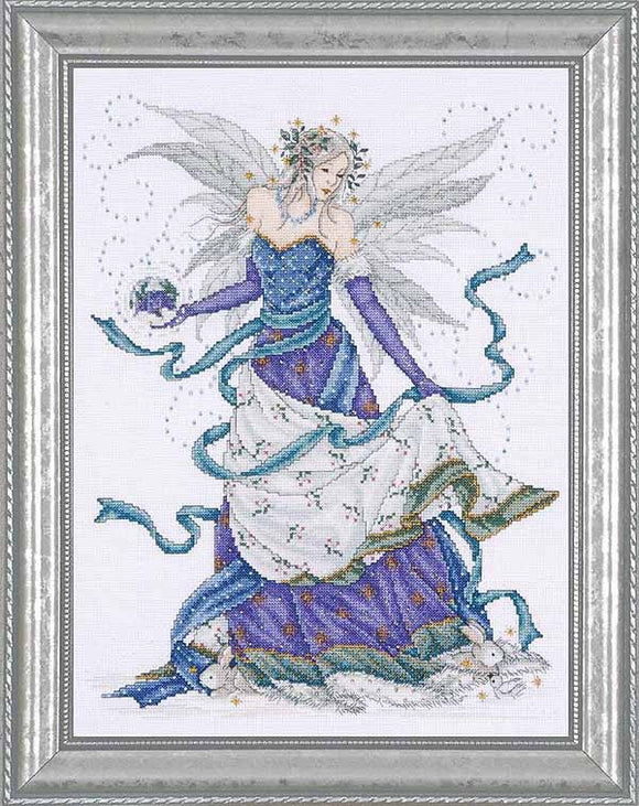 Ice Fairy Cross Stitch Kit by Design Works