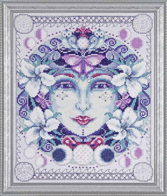 Moon Cross Stitch Kit by Design Works