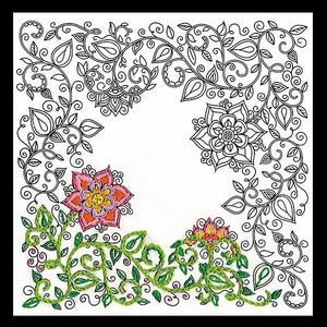 Garden Zenbroidery by Design Works