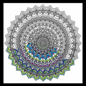 Mandala Zenbroidery by Design Works